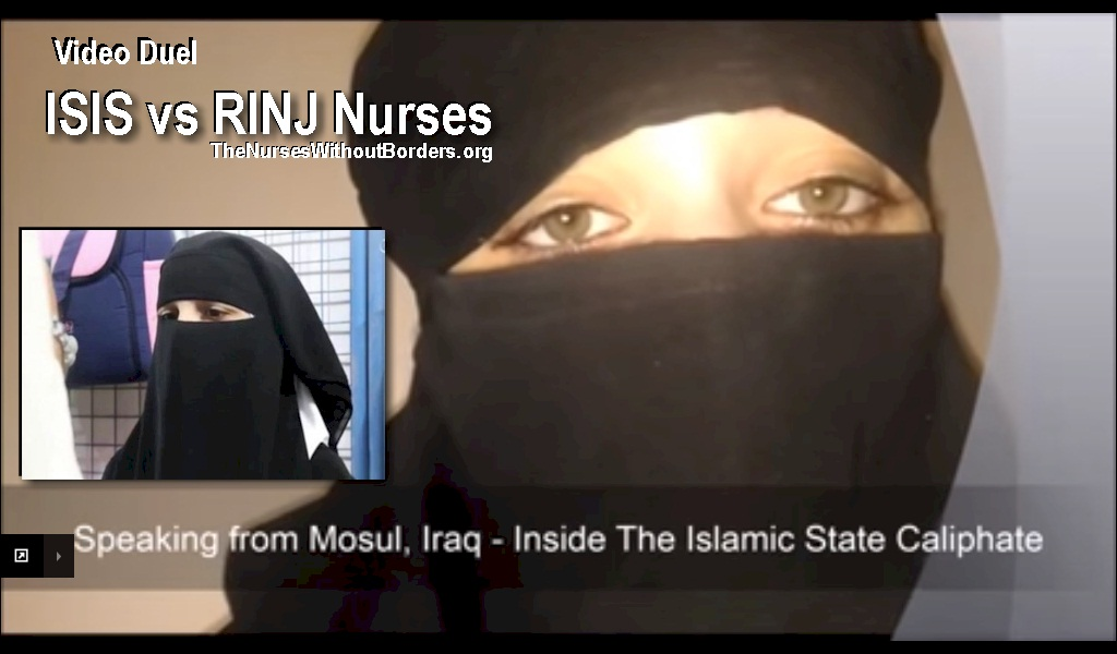 Challenging the ISIS Video RSAC Nurses Without Borders Speak Out From Inside The Islamic State Caliphate