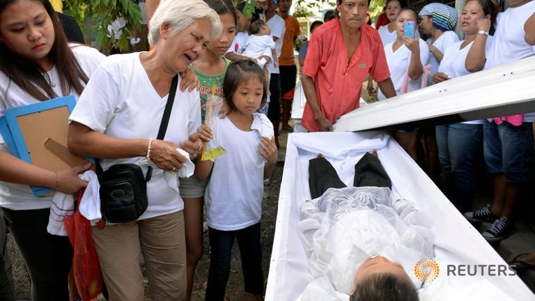 RINJ Has condemned DUterte's so-called war on drug users which has killed over 10,000 innocents