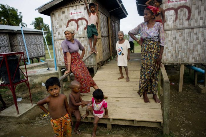 Women and children in Myanmar are being slaugtered by government troops