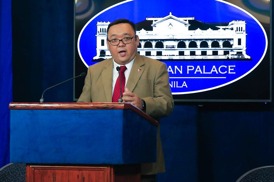 Latest Duterte Presidential Spokesperson Harry Roque holds his first press briefing in Malacañang on Nov. 2, 2017. Photo by Valerie Escalera, Malacañang
