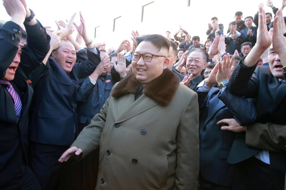 Kleptocratic Authoritarian leader Kim Jong-un