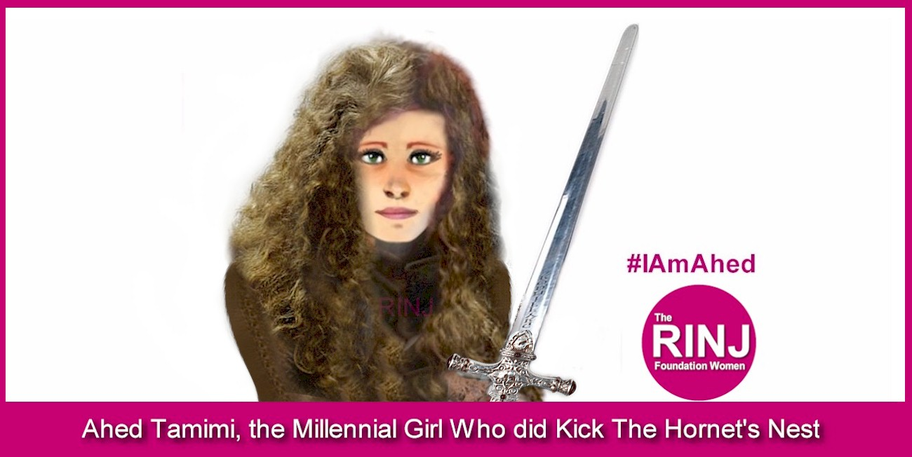 Ahed Tamimi - The Girl Who Kicked The Hornet's nest