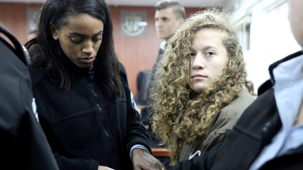 Ahed Tamimi Charged