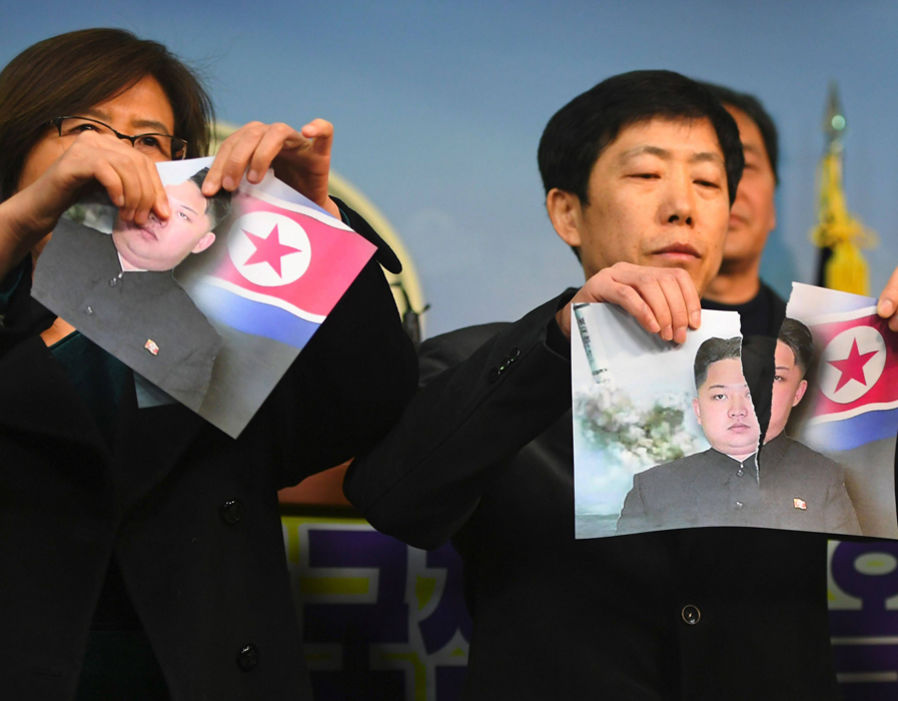 North Koreans are beautiful people who have the right to determine who they will be governed by. Kim Jong-un must order real elections to take place.