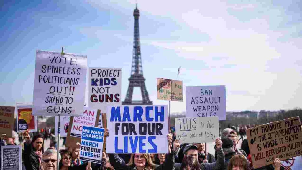 March for our lives - France