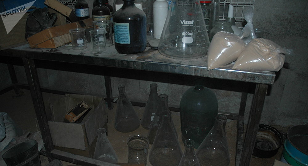 Islamic terorist Chemical Lab