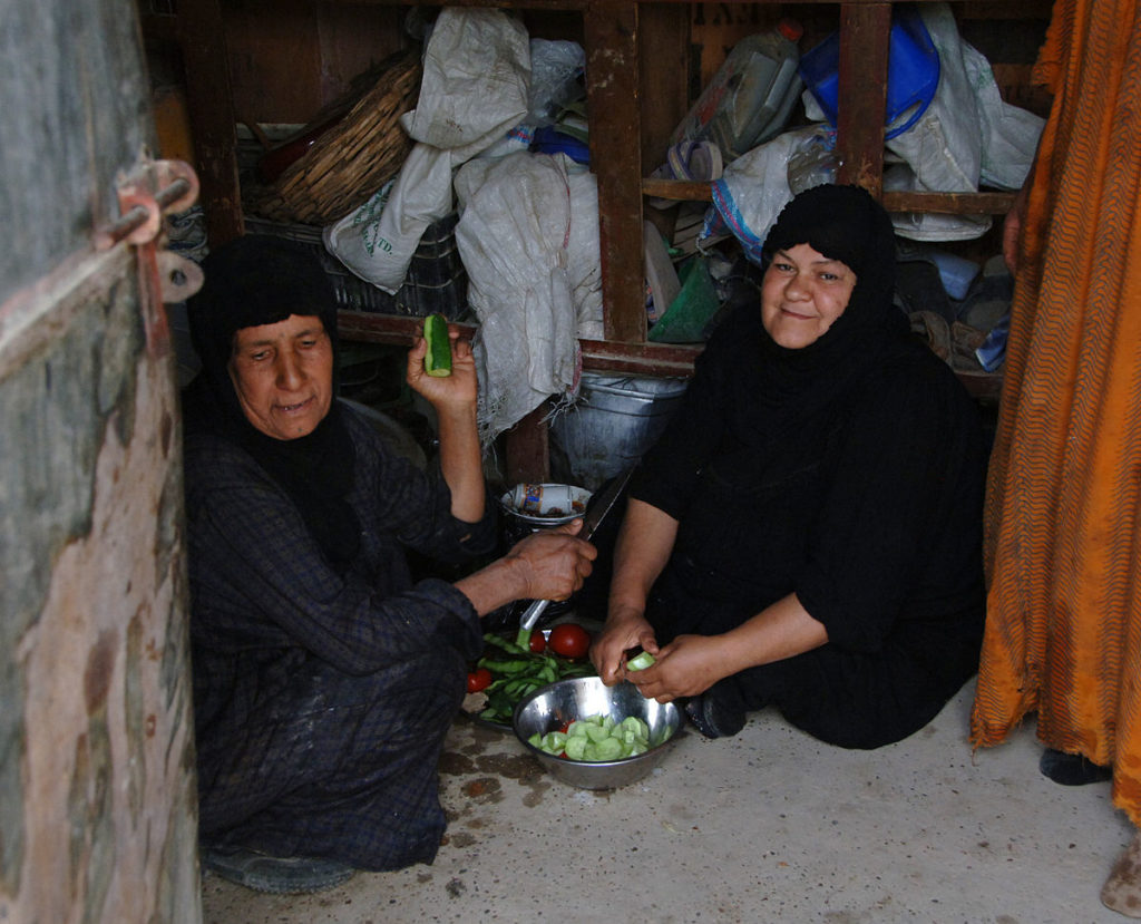 Once again Iraqi Women are displaced and victims of rape and sectarian violence.