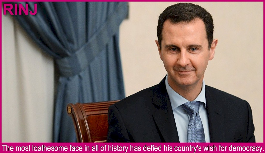 Bashar al-Assad, baby killer