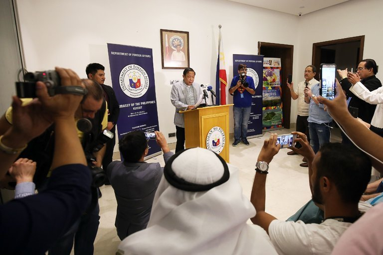 Philippines Ambassador kicked out of Kuwait