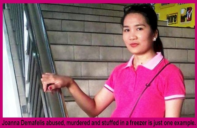 Joanna Demafelis abused, murdered and stuffed in a freezer is just one example.