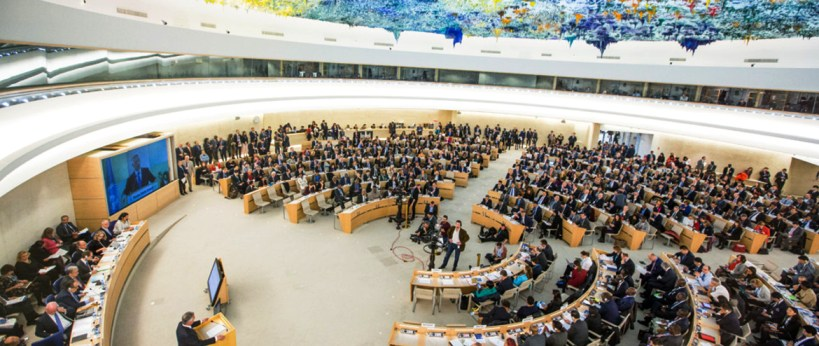 UN Human Rights Council in Geneva