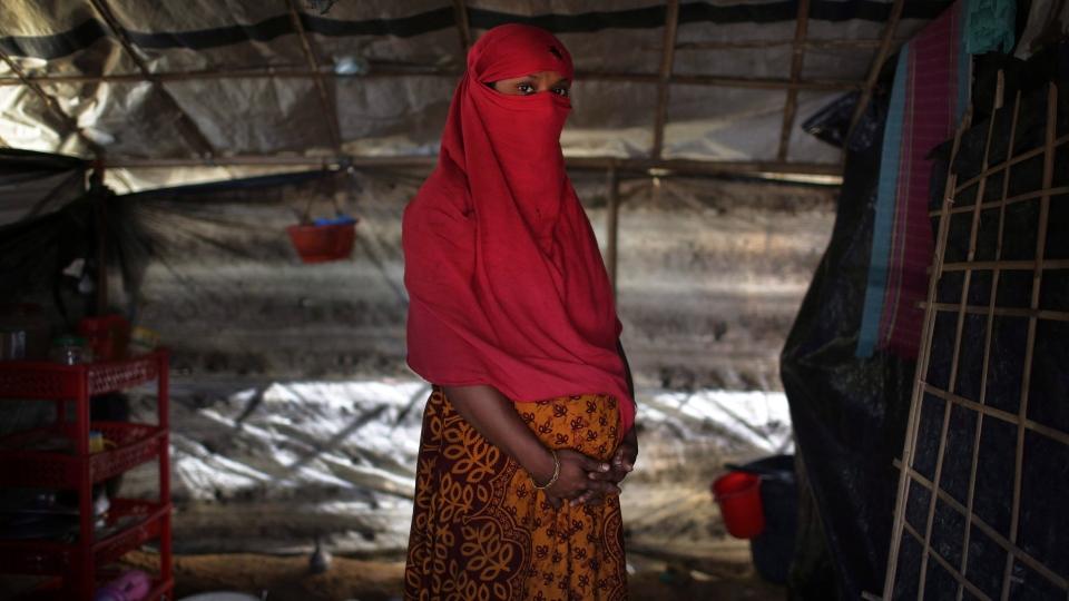 Rohingya Woman, survivor of Rape