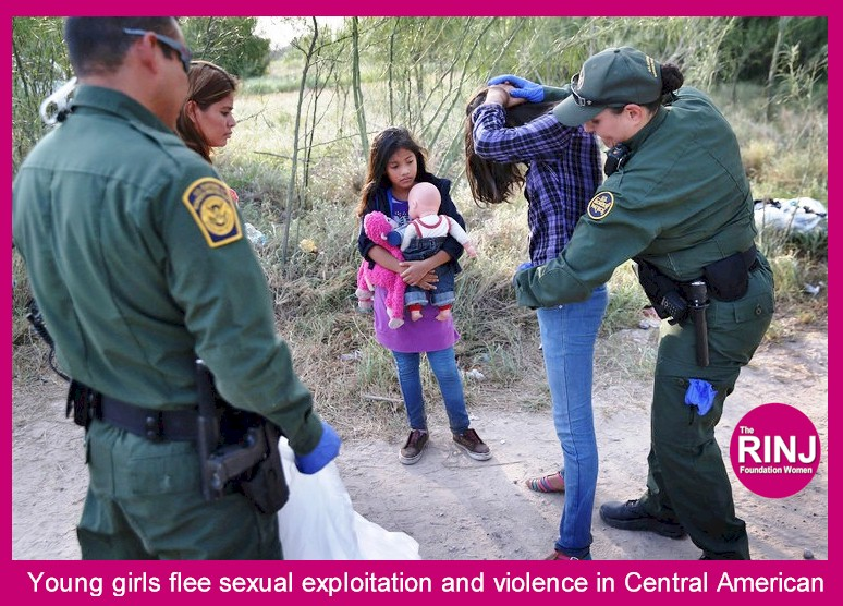Young girls flee sexual exploitation and violence in Central America