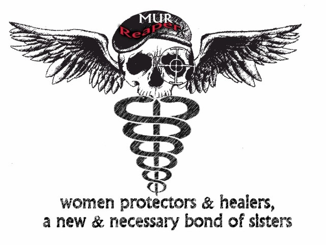 a bond of women who are both healers and fighters. We must fight for the safety of women and children