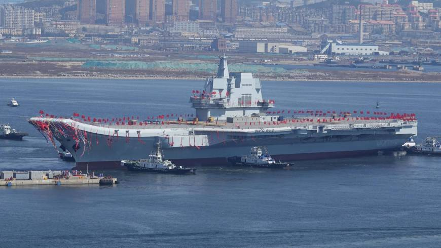 China's new Aircraft Carrier is the second in its fleet