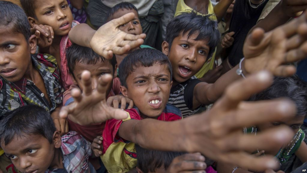 Rohingya Children in September 2017