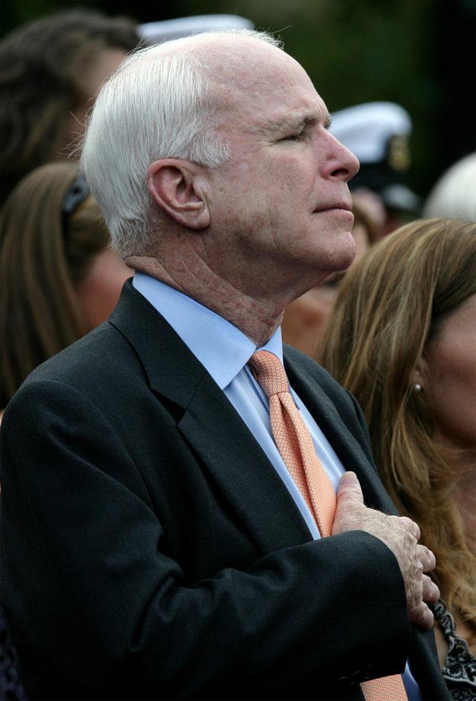 Arizona Senator John Sidney McCain
