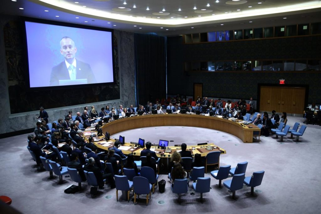 UN Security Council July24, 2018