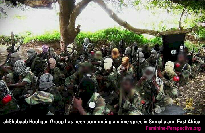 Feminine Perspective - Hooligan Crime Group known as al shabaab has launched a crime spree to disorder the reforming Somalia