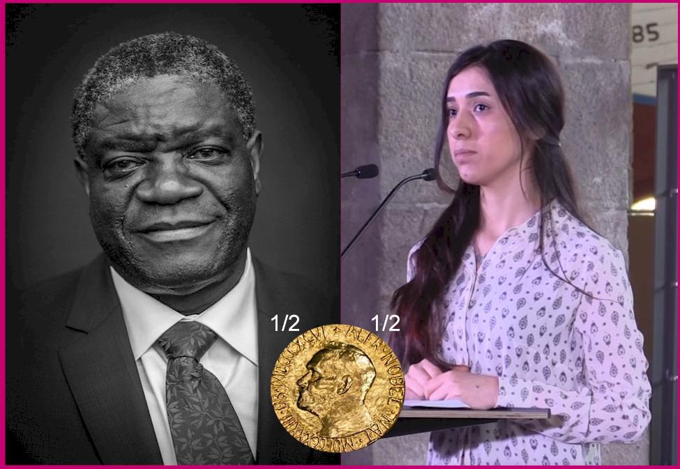 2018 Nobel Peace Prize Winners