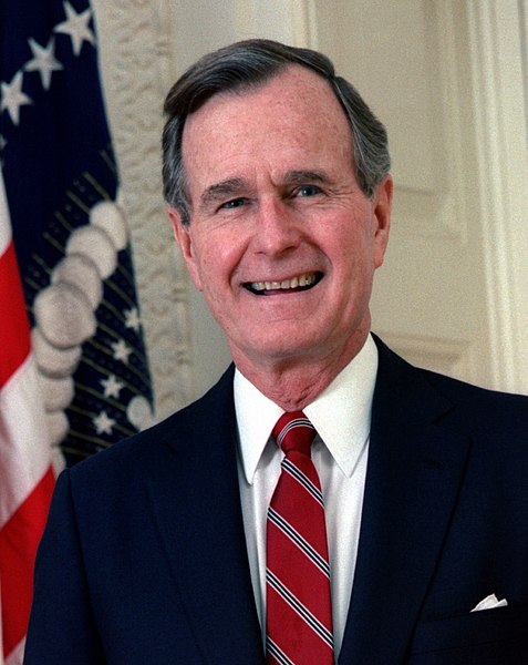 George H Bush US President 41