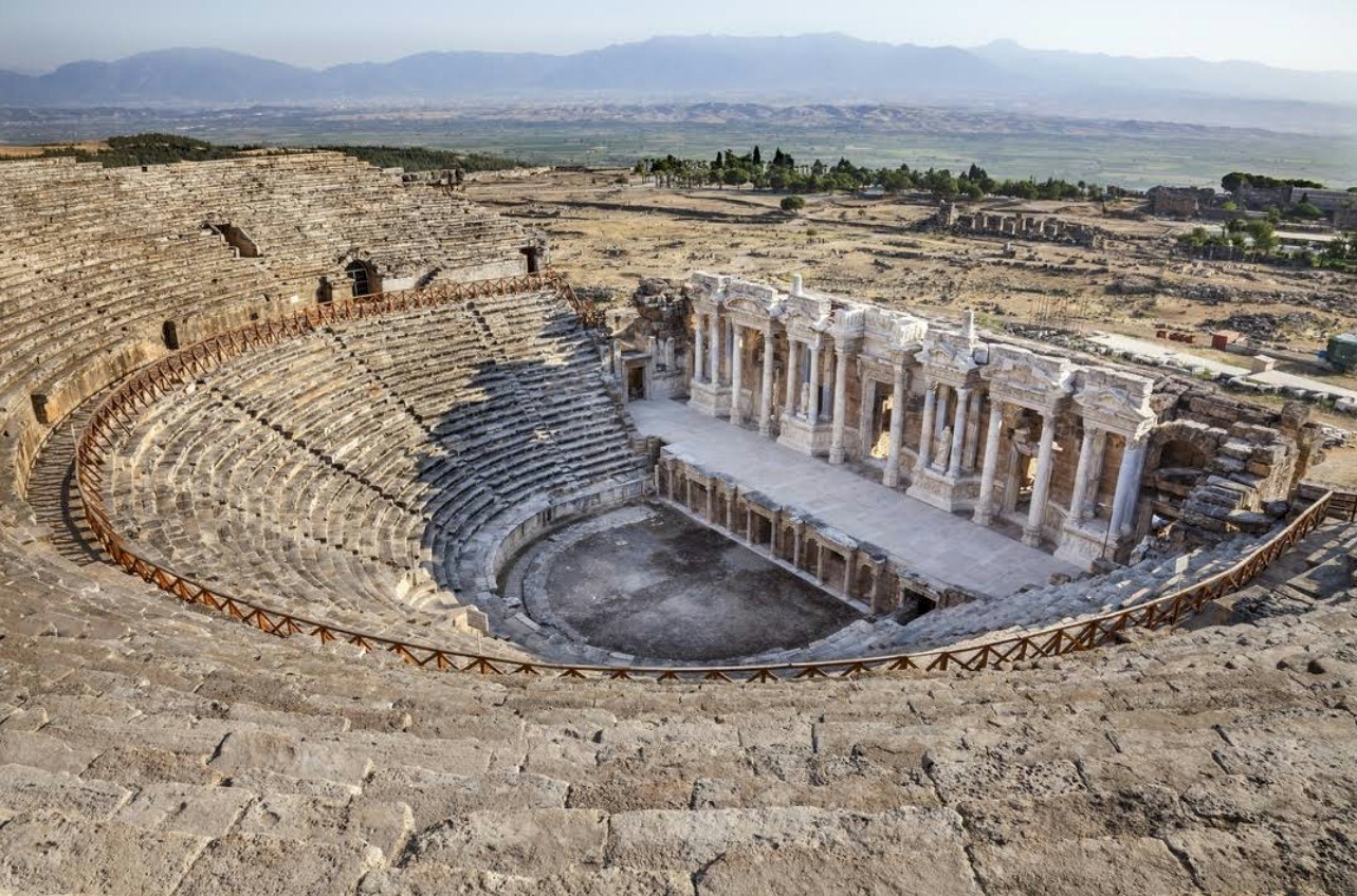 The Theatre in the ancient city of Hierapolis
