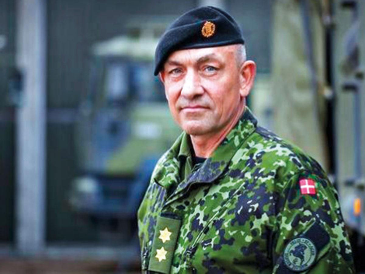 Maj. Gen. Michael Ankar Lollesgaard