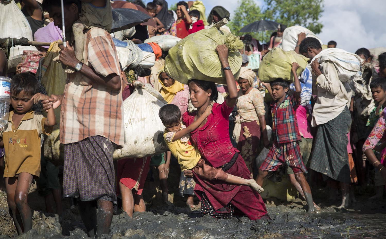 700,000 Rohingya sought safety in Bangladesh