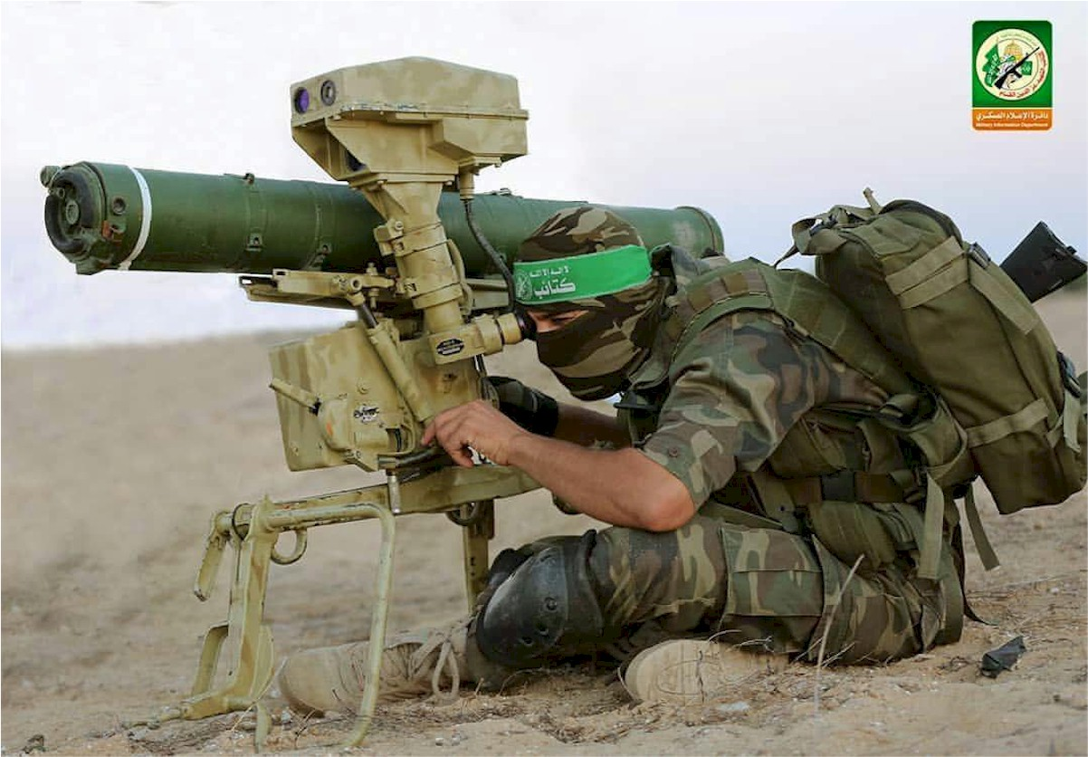 HAMAS militia group trained by Iranians