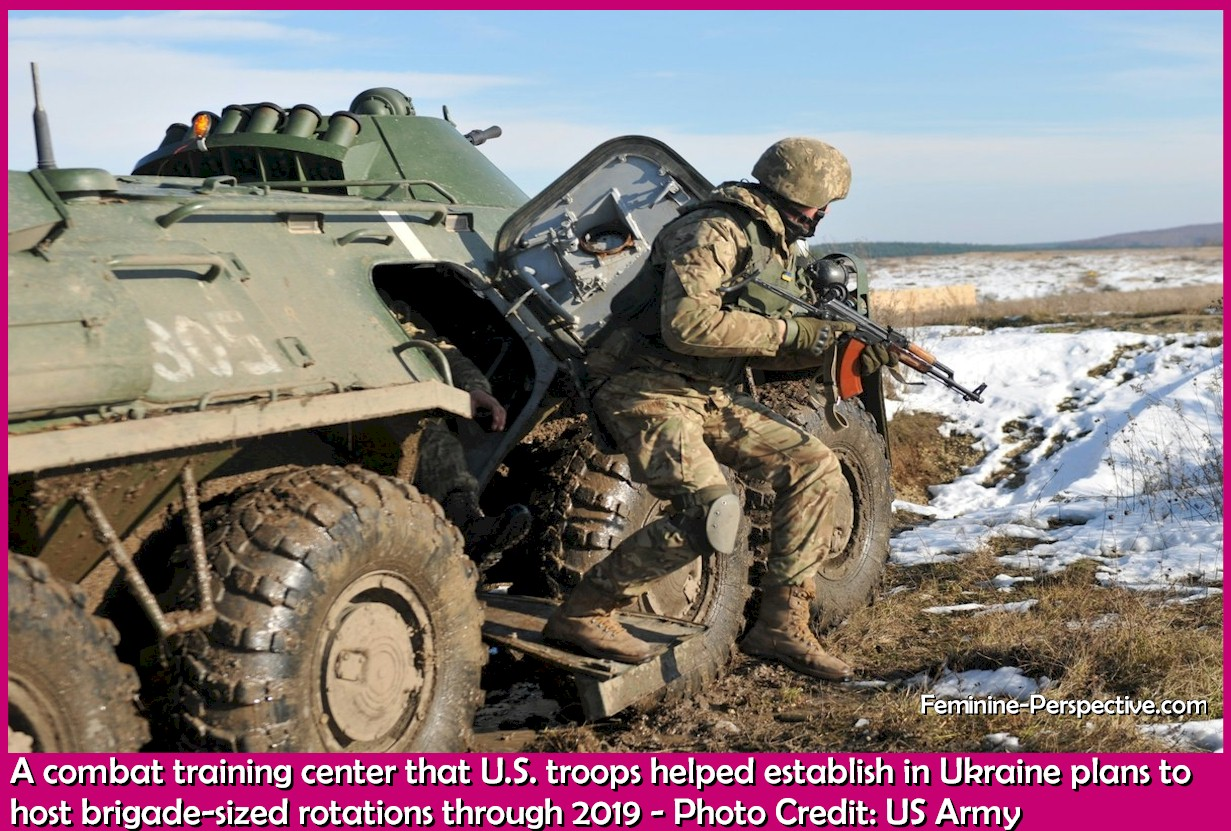 A combat training center that U.S. troops helped establish in Ukraine plans to host brigade-sized rotations through 2019 - Photo Credit: US Army
