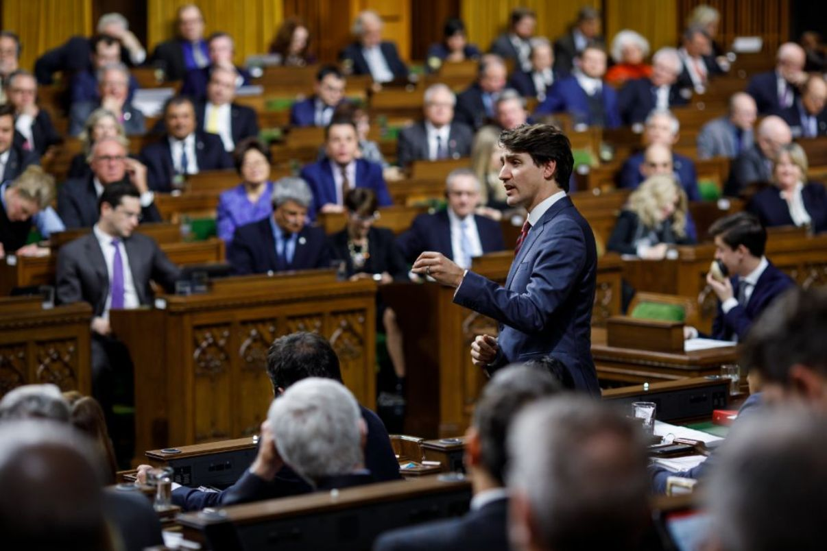 Canadian Prime Minister Justin Trudeau, House of Commons January 30, 2019 - Photo Credit: PMO