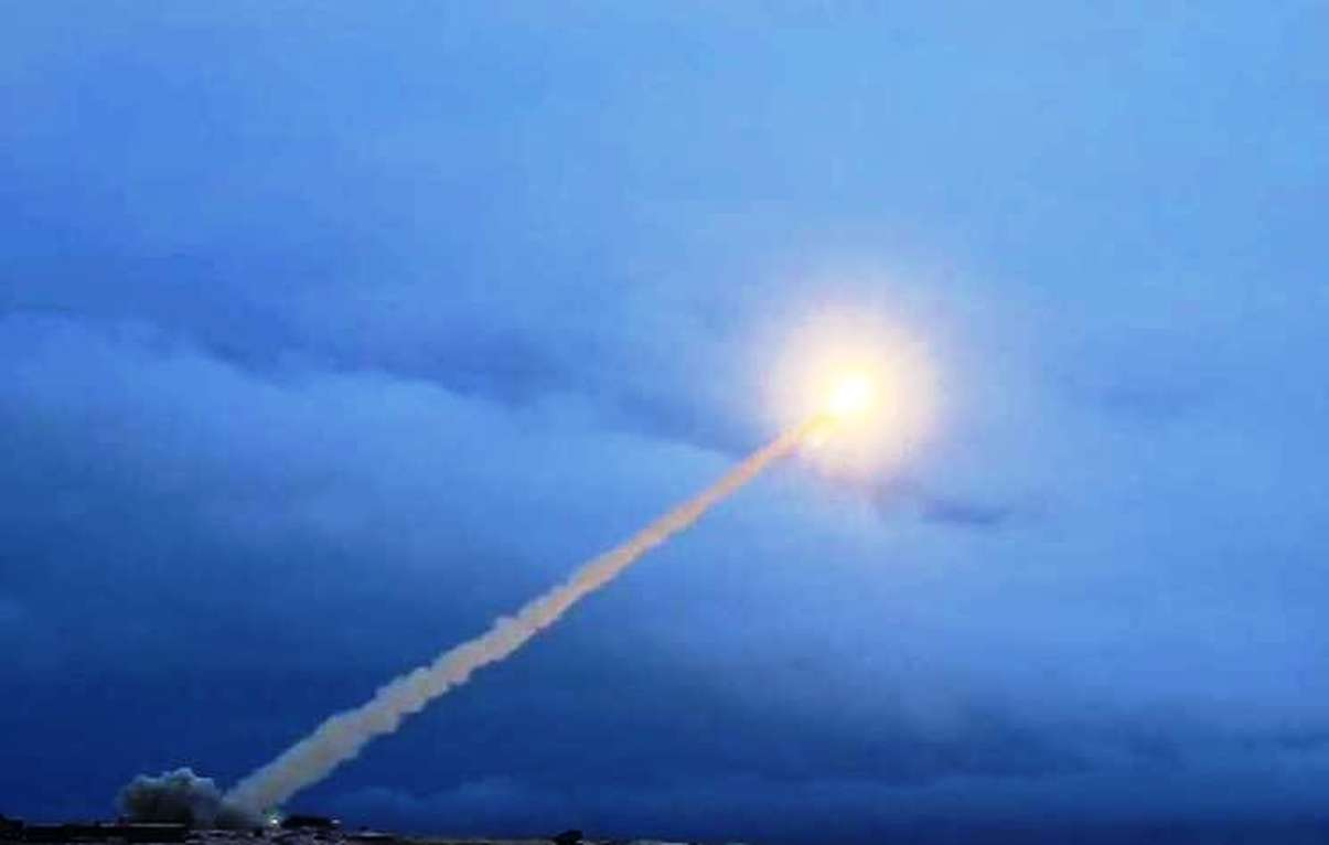 Testing Cruise missile Burevestnik - Photo Credit: Ministry of Defence of the Russian Federation