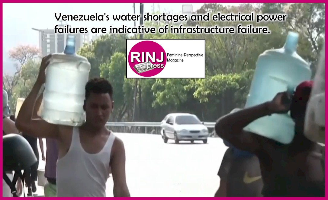 Water and power shortages in Venezuela