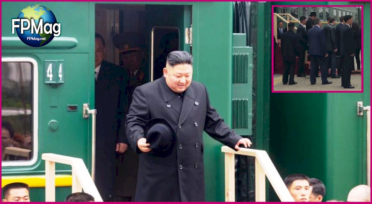 Kim Jong-un arrives at Khasan border crossing for meeting with Vkadimir Pitin three hours ago. Photo Credit: Kremlin.ru
