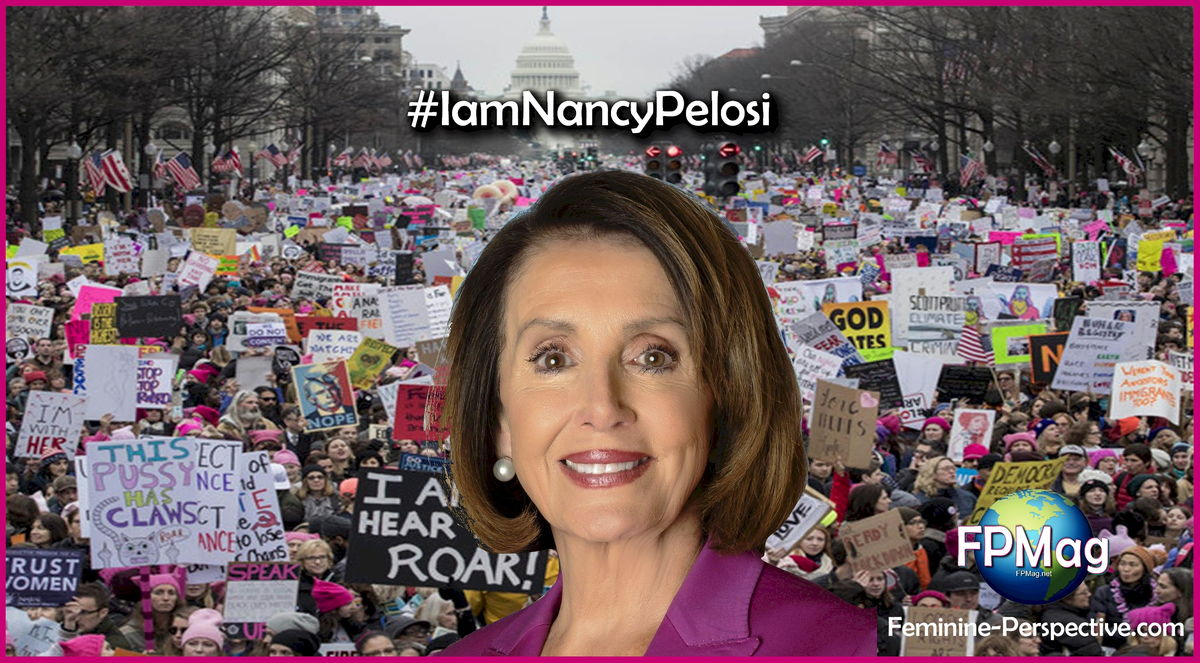 I am Nancy Pelosi #IamNancyPelosi