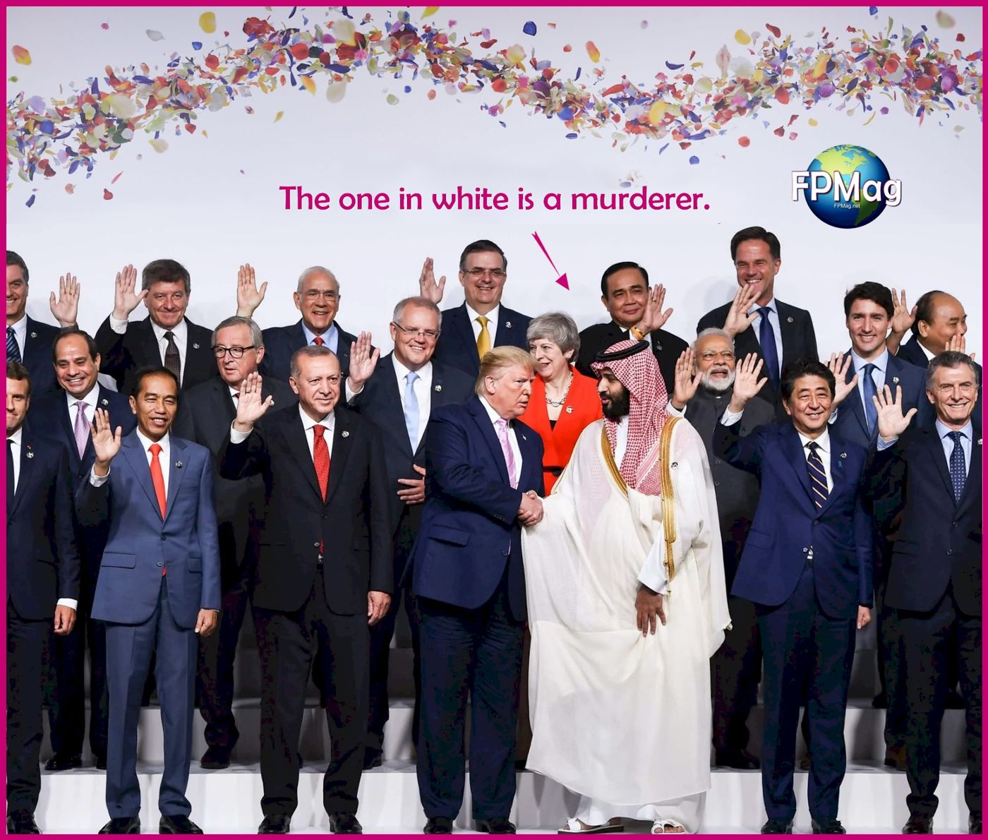 G20 Summit - The one in White is a Murderer