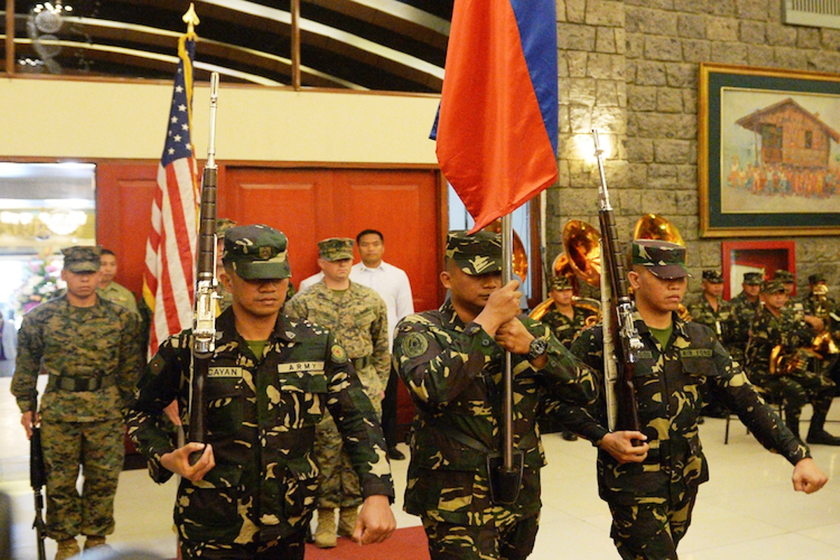 US and Philippines Military Mission May 2018