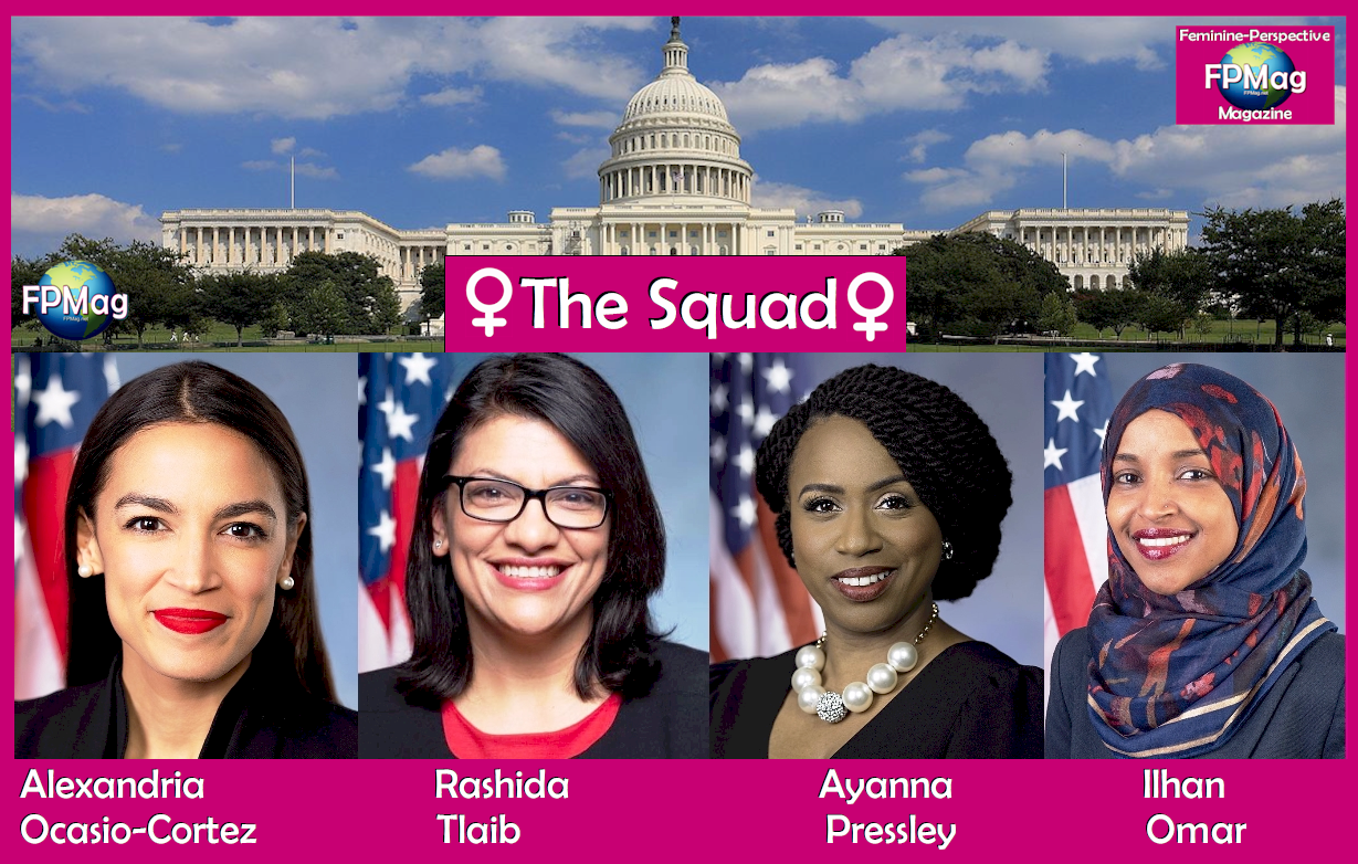 The Squad: They have often defeated antagonist Donald Trump with straightforward intellectual honesty.