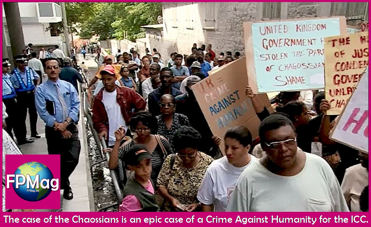 Peaceful Demonstration by Chagos Refugee Group