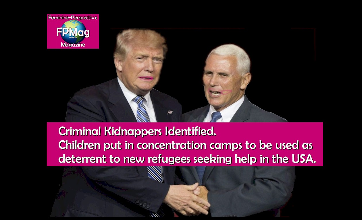 Pence, Trump Warrants  Kidnapping children for any purpose