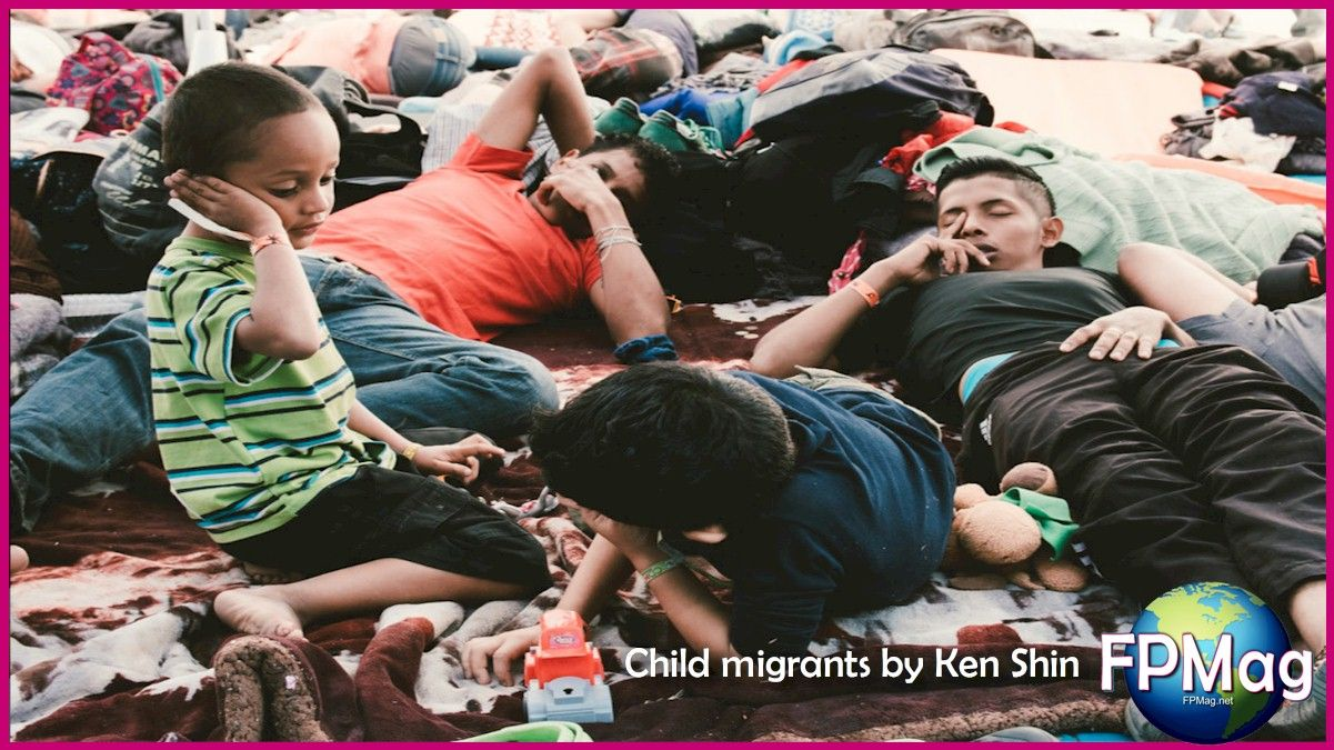 Child migrants endangered by detention