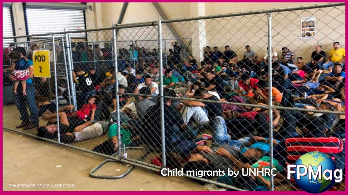 """""""As a pediatrician, but also as a mother and a former head of State, I am deeply shocked that children are forced to sleep on the floor in overcrowded facilities, without access to adequate healthcare or food, and with poor sanitation conditions"""", said High Commissioner for Human Rights Michelle Bachelet. She stated that according to several UN human rights bodies, detaining migrant children may constitute cruel, inhuman or degrading treatment that is prohibited under international law."""
