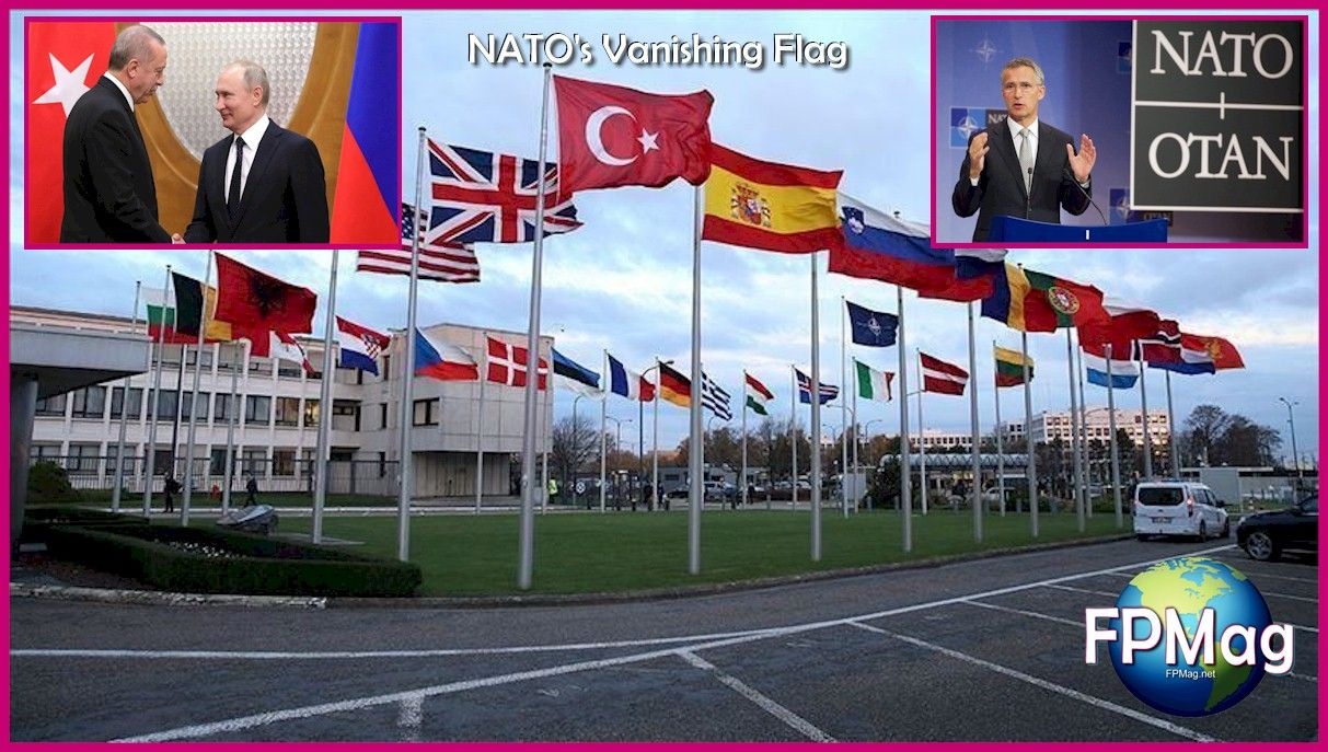 NATO's Vanishing Flag