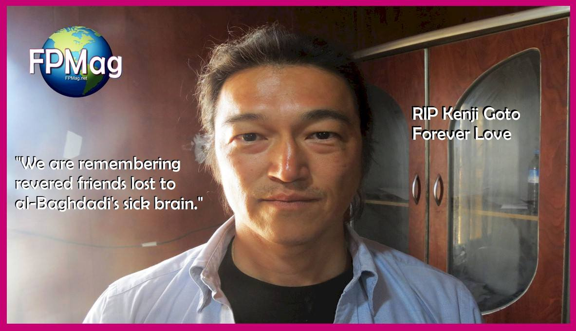 Kenji Goto was a Japanese freelance video journalist covering wars and conflicts, refugees, poverty, AIDS, and child education around the world. In October 2014, he was captured by ISIS and held hostage by Islamic State of Iraq and Syria militants after entering Syria in the hopes of rescuing Japanese hostage Haruna Yukawa.