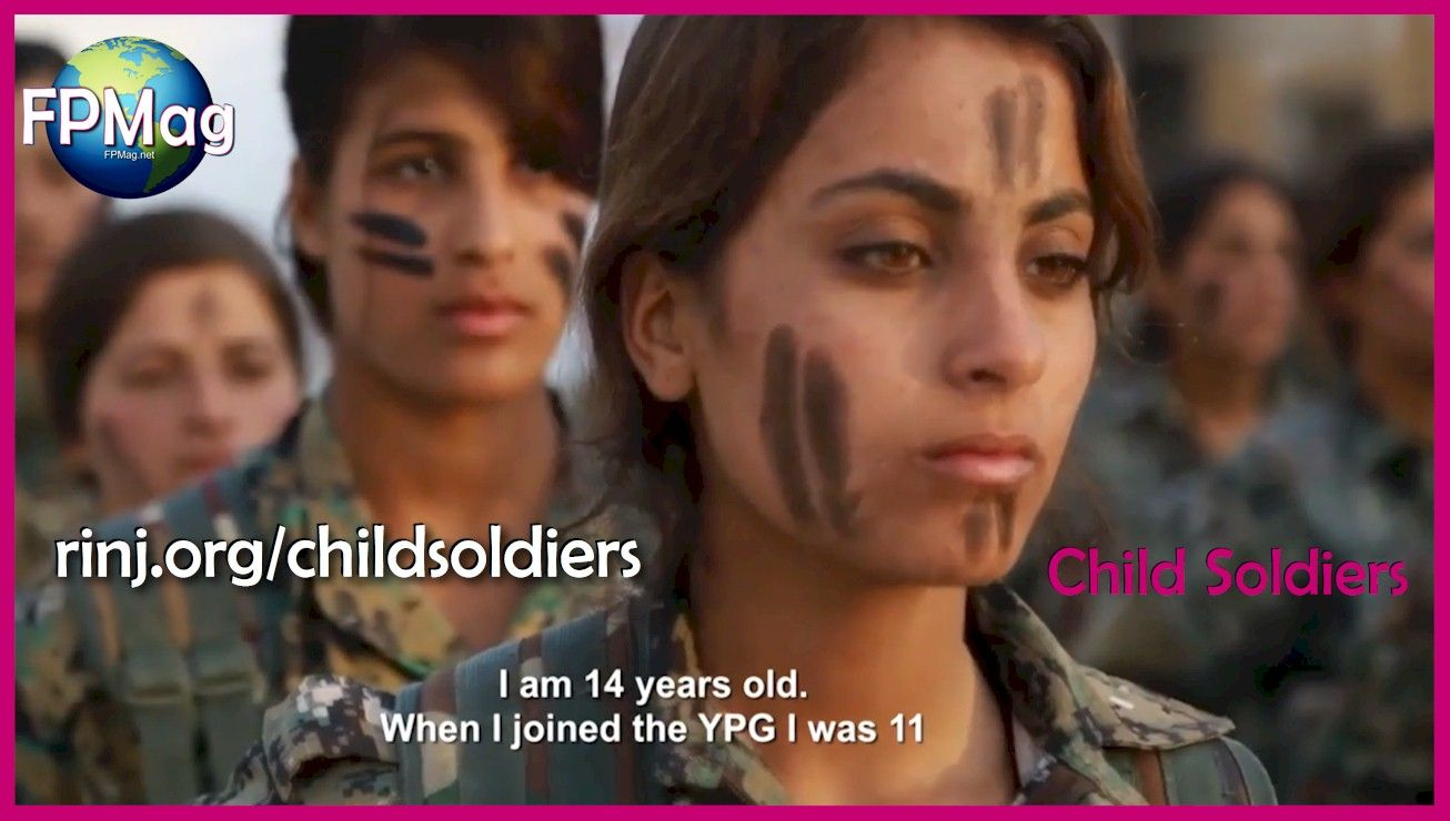 Child soldiers training in a Marxist/Leninist Terrorist group known as the PKK/YPG