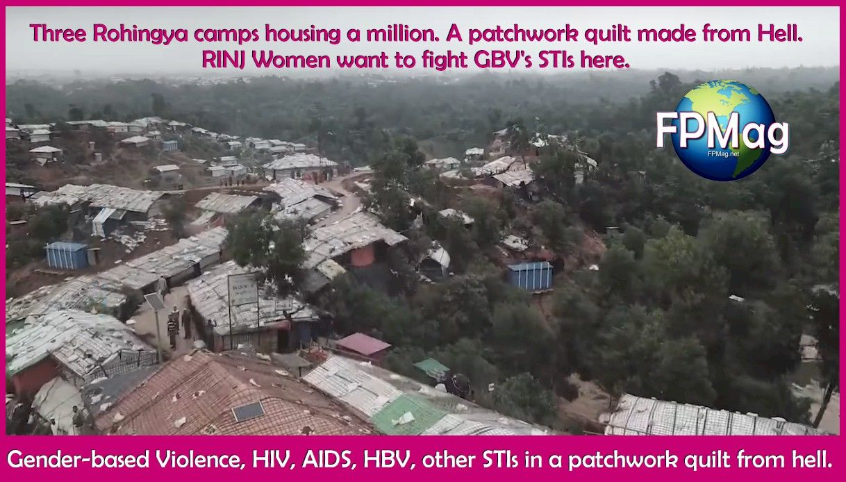 Gender-based Violence, HIV, AIDS, HBV, other STIs in a patchwork quilt from hell.