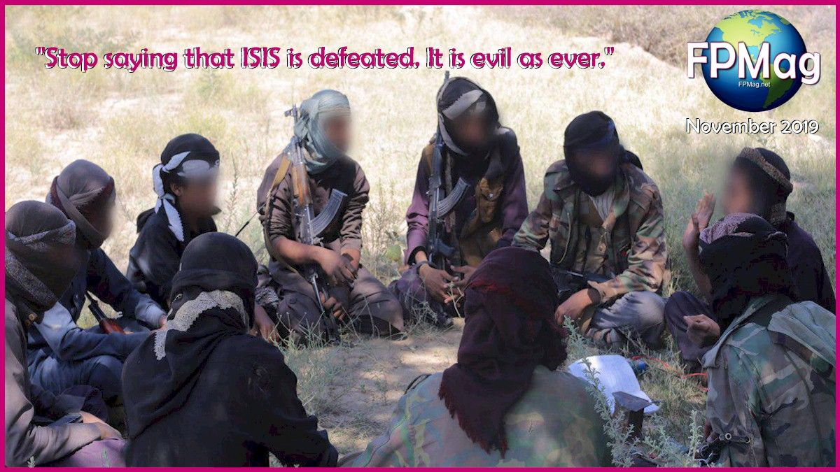 ISIS continues today to train thousands of terrorist Salafist Jihadists. All members of theIslamic State organization are to be arrested and prosecuted in accordance with the --ISIS Arrest and Prosecution Protocol-- and local law.