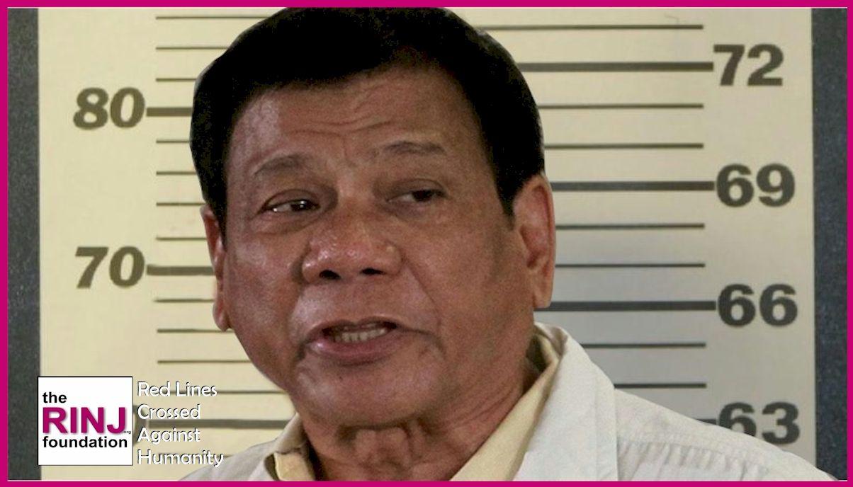 Rodrigo Duterte, Murderer of thousands.