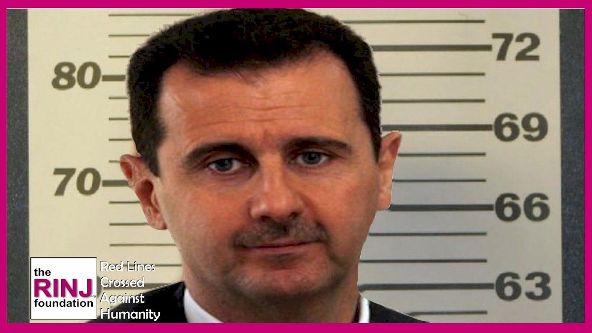 """""""Bashar al Asaad must be indicted, imprisoned and tried. His cohorts too. Above all, his criminal brutality must be stopped."""" says the RINJ statement issued today."""