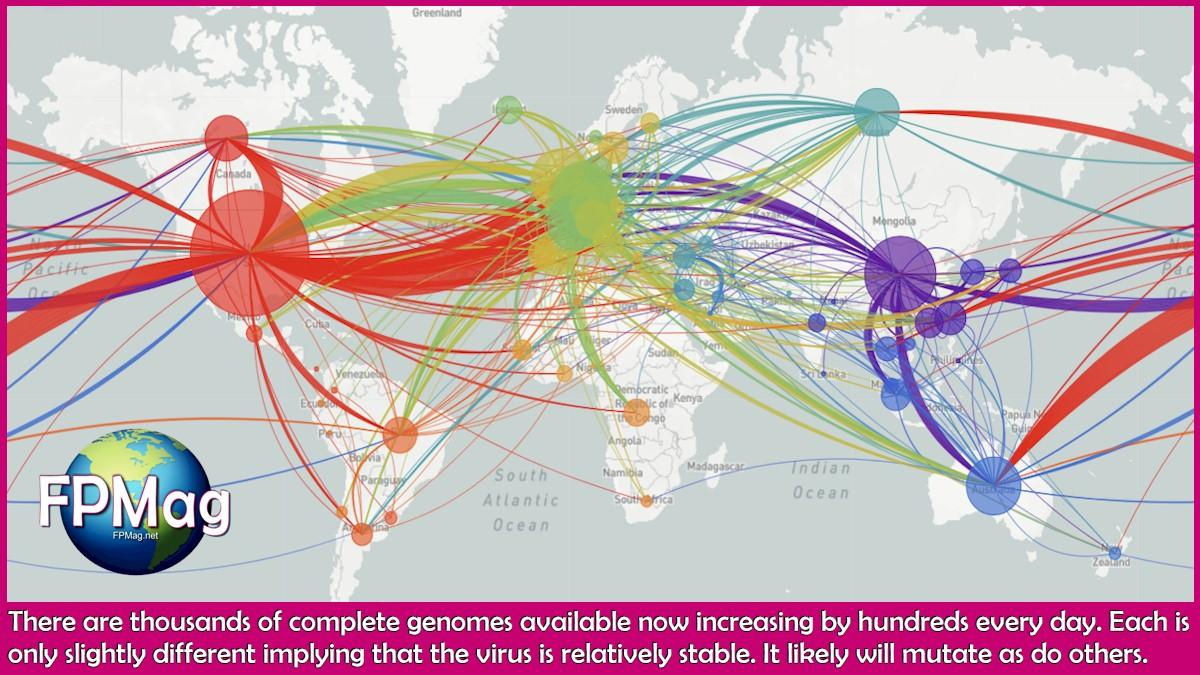There are thousands of complete genomes available now increasing by hundreds every day. Each is only slightly different implying that the virus is relatively stable. It likely will mutate as do others.
